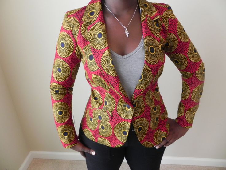 African Ankara Jackets by MsAlaba on Etsy, $59.00