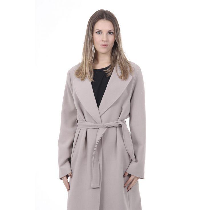 Versace 19.69 Abbigliamento Sportivo Srl Milano Italia Womens Coat CAPPOTTO VESTAGLIA TESS. SUPERDUKE BEIGE