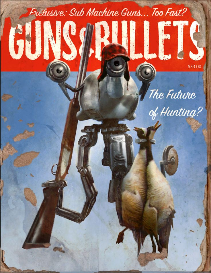 Guns And Bullets #10 Book - Fallout 4 by PlanK-69 on DeviantArt