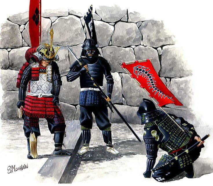 """Samurai, Sengoku period""   Stéphane Morhain"