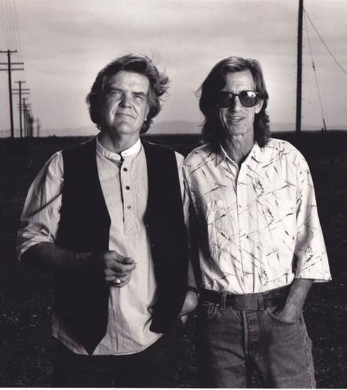 Pancho and Lefty: Texas singer-songwriters supreme Guy Clark and Townes Van Zandt