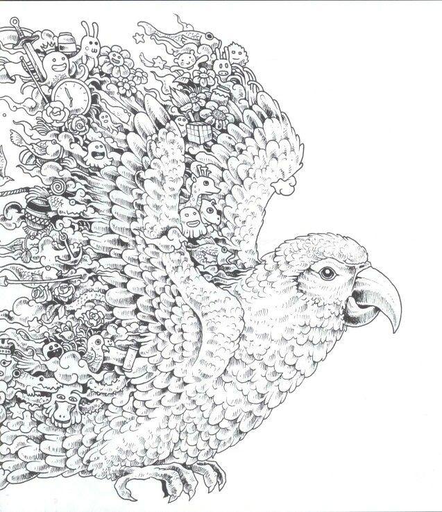 70 besten Antistress coloring - Animals Bilder auf Pinterest ...
