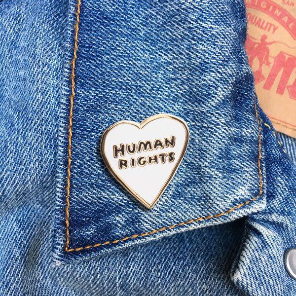 Human Rights Pin, Enamel Pin, Hard Enamel Pin, Jewelry, Art, Gift (PIN77) by thefoundretail on Etsy https://www.etsy.com/listing/483337228/human-rights-pin-enamel-pin-hard-enamel