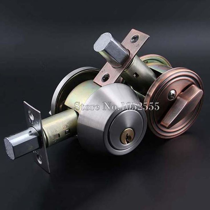 High Quality Stainless Steel Invisible Door Latch Lock Door Knobs Handles Passage Entrance Lock Latch Deadbolt K115