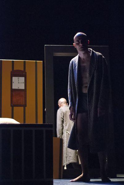 Luca Brancato in La morte di Ivan Il'ic di #Tolstoj  TeatroLieve, ottobre 2013 Foto di Massimo Fonsatti