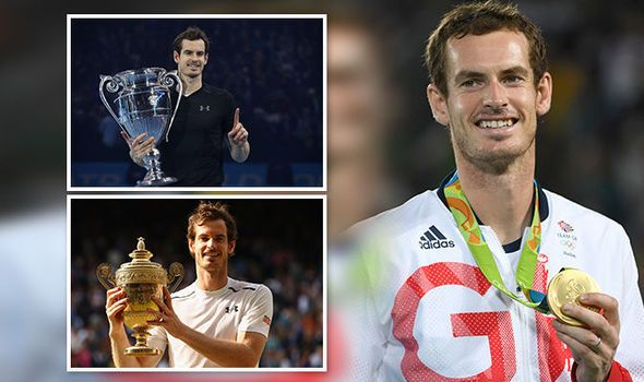 Andy Murray became a dad changed his coach then won Wimbledon Olympics and SPOTY in 2016