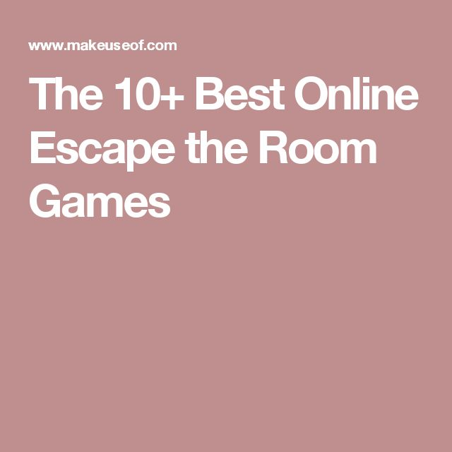 The 10+ Best Online Escape the Room Games