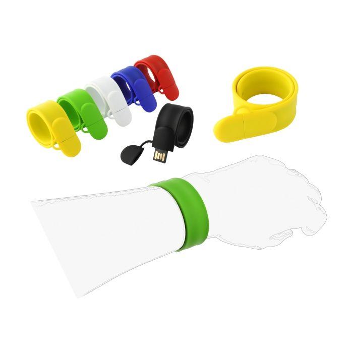 L07 USB-Stick - als Armband mit Schnappfunktion (Snap)