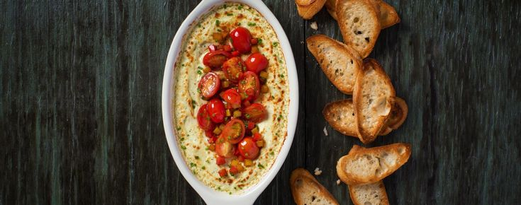 Baked Goat Cheese Dip | Woolwich Dairy