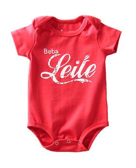 Body Beba Leite I'm not a Baby! www.imnotababy.com.br