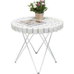 Side Table Aspen White Ø60cm by KARE Design #Side #table #aspen #white #KARE #KAREDesign