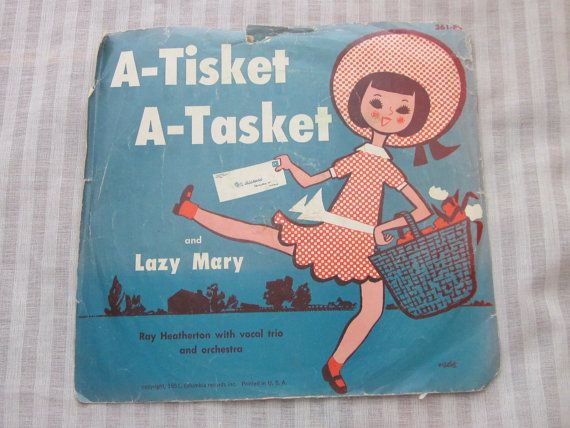 Beautiful memories!  A Tisket A Tasket and Lazy Mary Vintage by MendozamVintage on Etsy, $3.99