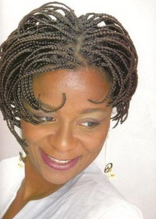 Beautiful Black Braided Hairstyles For Short Hair
