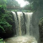 Ir. Juanda Grand Forest Park - Bandung. Another waterfall