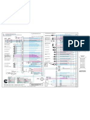 Diagrama de Cableado Del ISC   Eléctrico   Eléctrico
