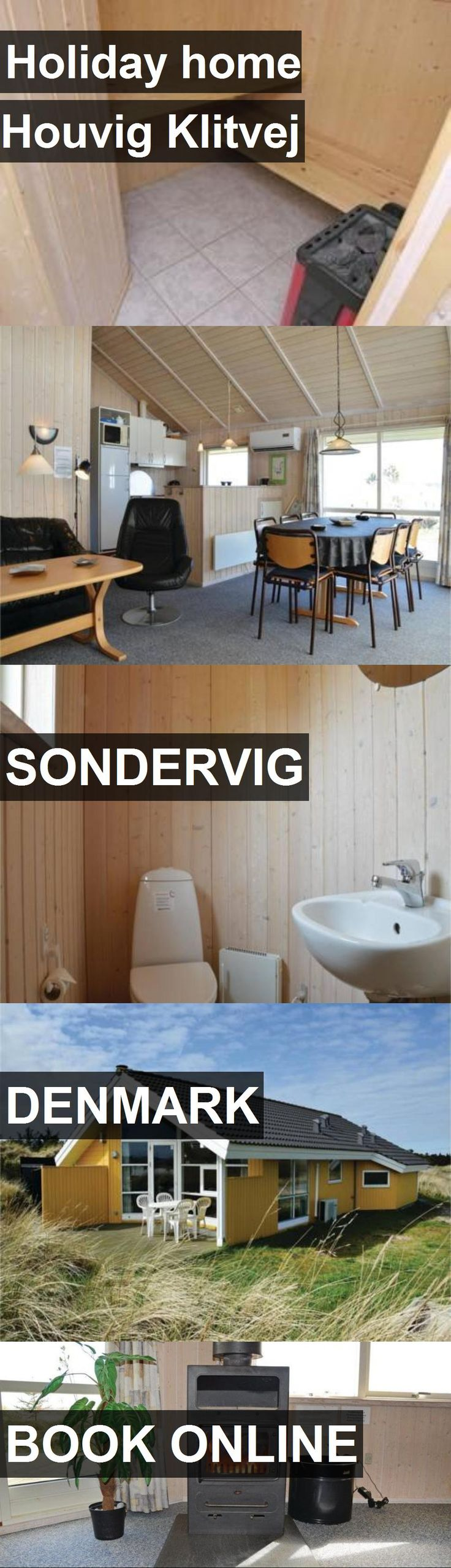 Hotel Holiday home Houvig Klitvej in Sondervig, Denmark. For more information, photos, reviews and best prices please follow the link. #Denmark #Sondervig #travel #vacation #hotel