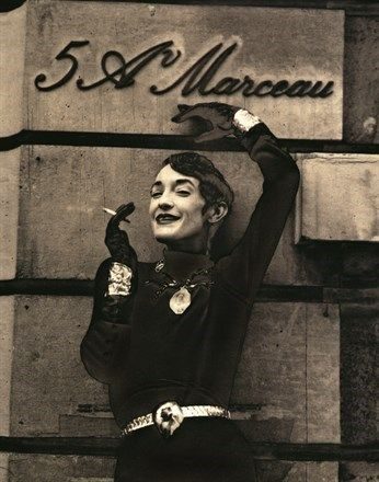 """Loulou de la Falaise - was a fashion muse and designer of fashion, accessories and jewelry associated with Yves Saint Laurent. Author Judith Thurman, writing in The New Yorker magazine, called La Falaise """"the quintessential Rive Gauche haute bohémienne"""""""