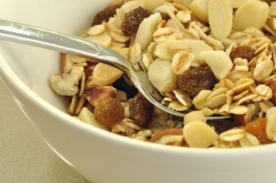 Muesli-modern day breakfast of champions...and for the rest of us