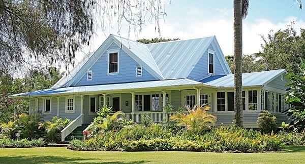 hawaiian plantation style home | plantation hales | pinterest