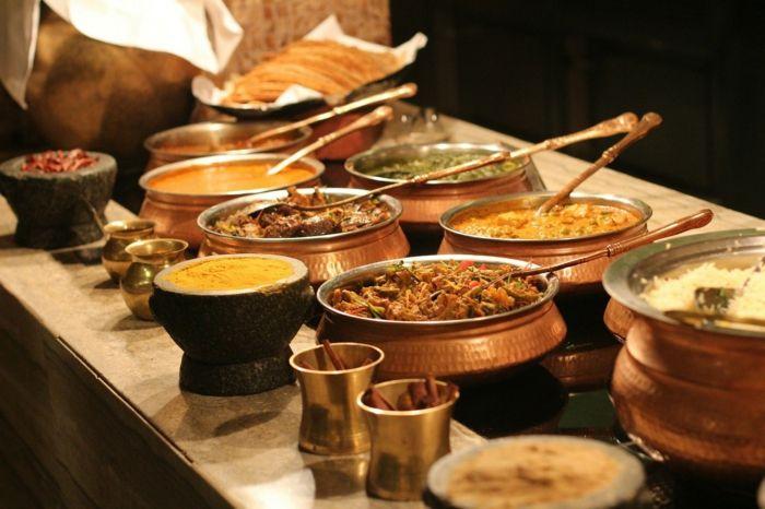 indisches essen curry reis