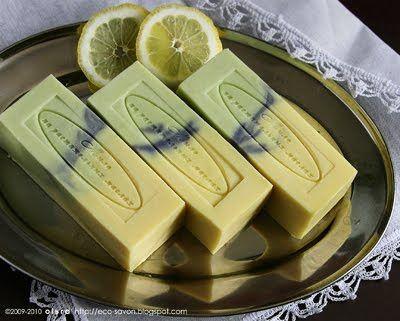 Лимонное мыло