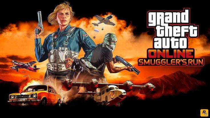 GTA Online anuncia la expansión Smuggler's Run - Meri Station