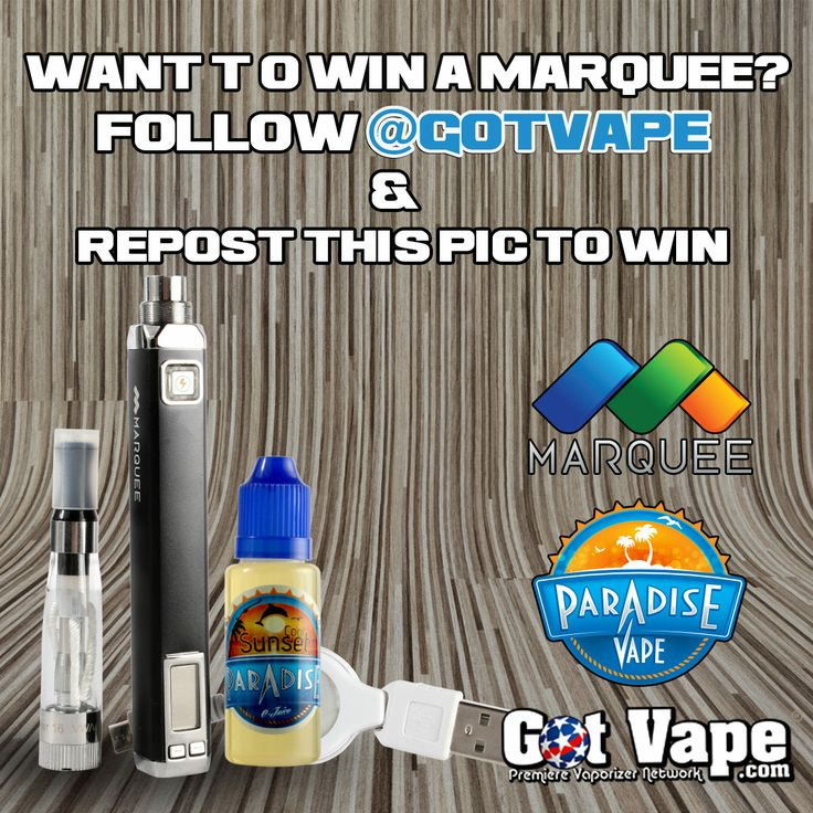 Follow @Got Vape on IG for your chance to win a #marqueevaporizer!  http://www.gotvape.net/marquee-essential-oil-vaporizer.html
