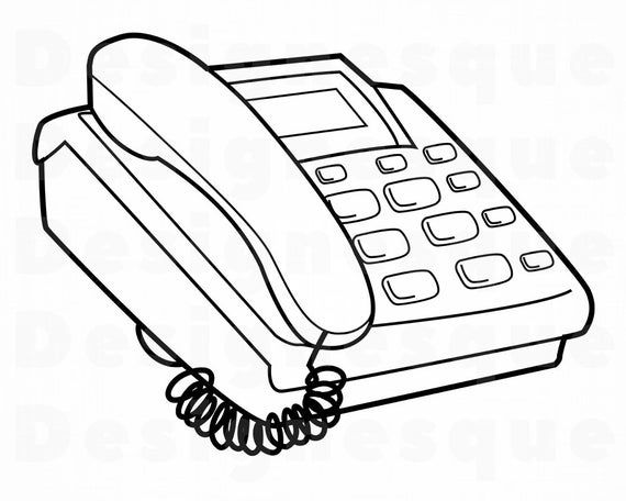 Telephone Svg Phone Svg Dial Phone Svg Telephone Clipart Etsy Printable Coloring Pages Free Printable Coloring Pages Free Printable Coloring