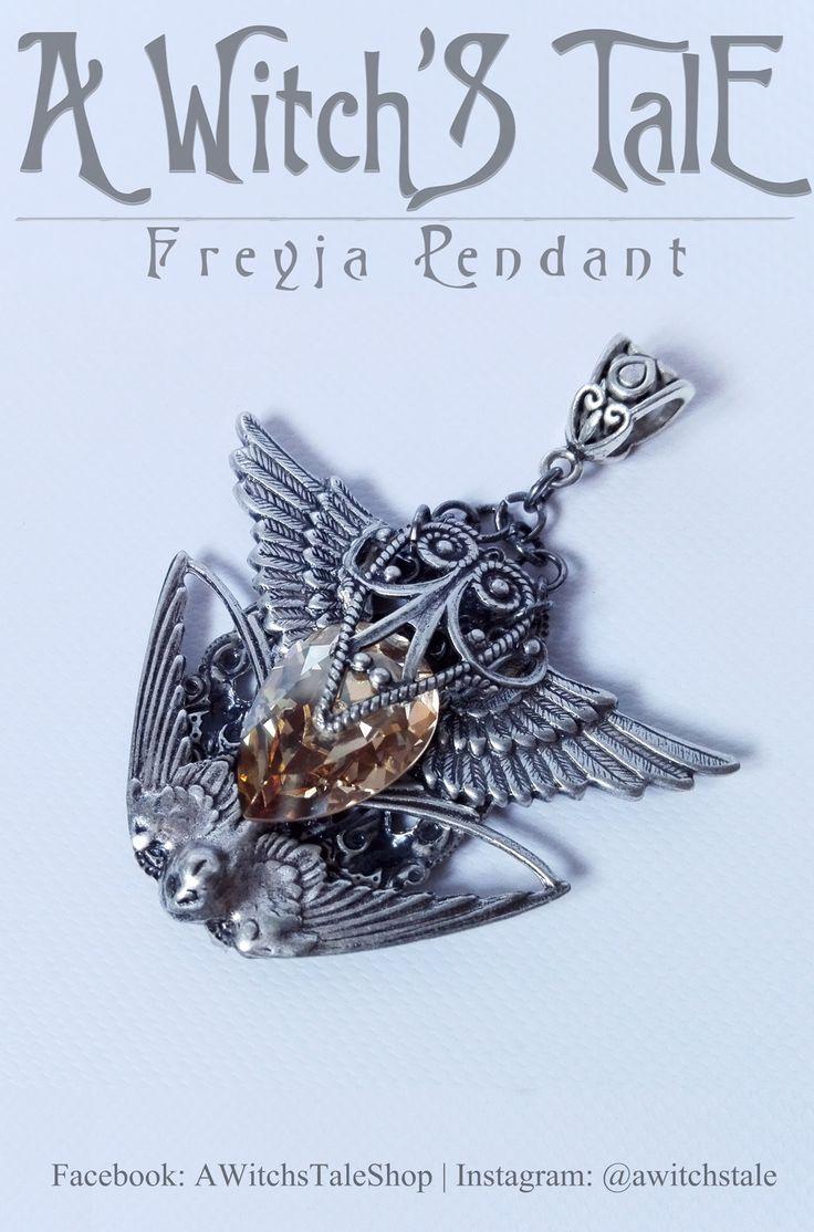 Freyja Pendant by A Witch's Tale