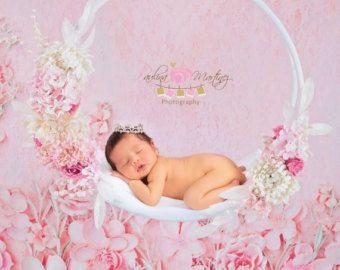Nido de musgo Prop recién nacido-recién por PMPDreamCatchers