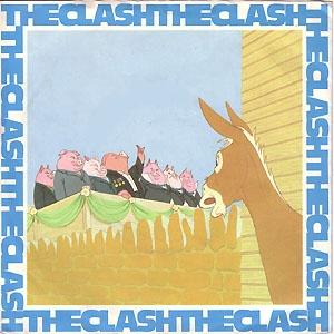 The Clash  English Civil War single sleeve