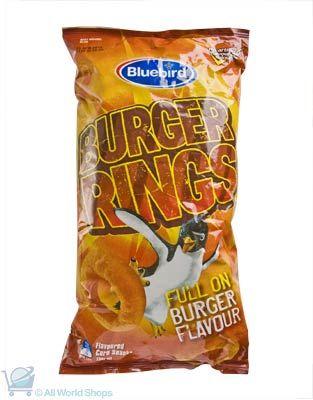 Bluebird Burger Rings Corn Snacks 130g | Shop New Zealand NZ$5.9