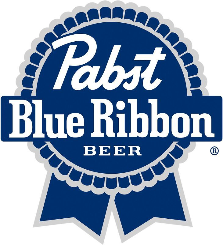 Pabst Blue Ribbon Die Cut Vinyl Decal