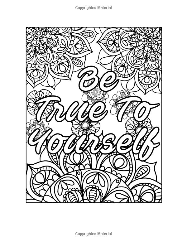 Amazon Good Vibes Coloring Book For GrownUps A Motivational And Inspirational