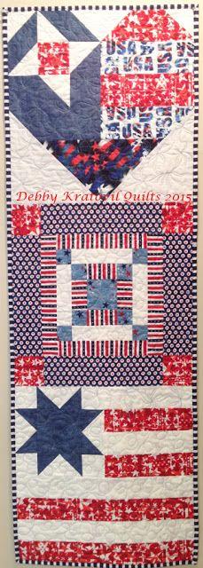 Debby Kratovil Quilts: 2016 Calendar Girls BOM: July Block