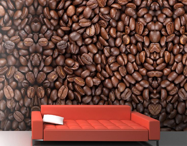 How about a coffee date? | Coffee Beans M8956 #coffeebeans #fauxfinish #fauxmurals