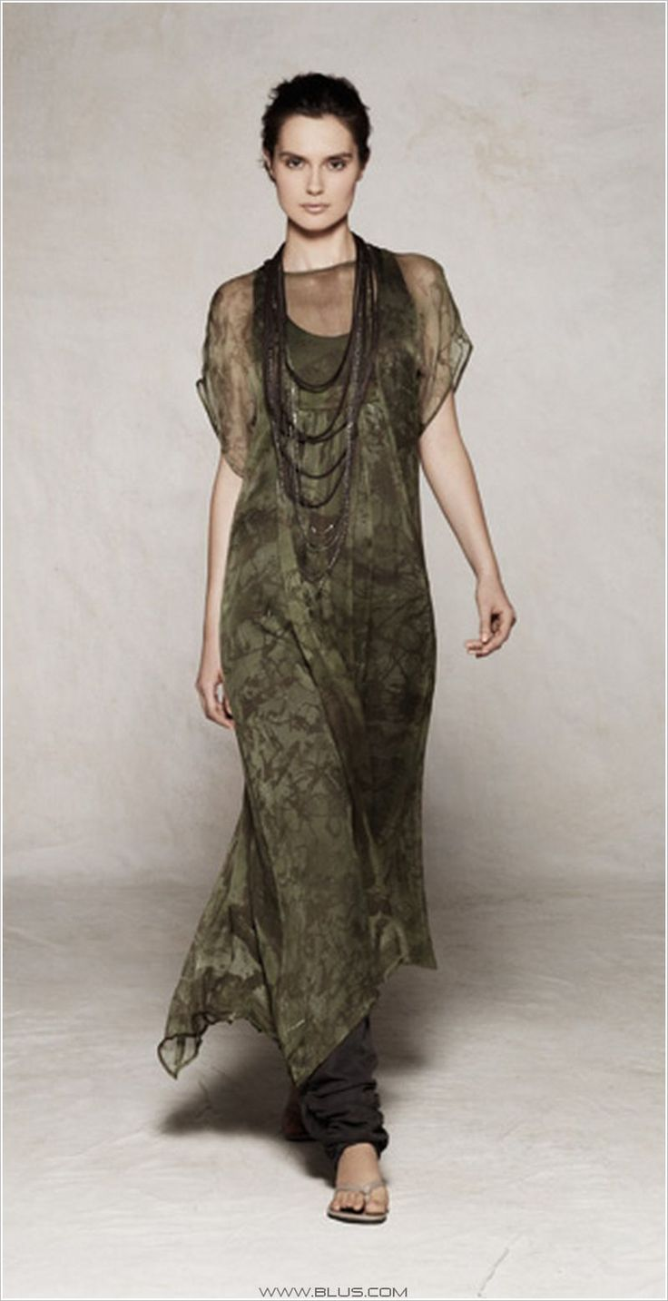 Sarah Pacini - love the colour and layering