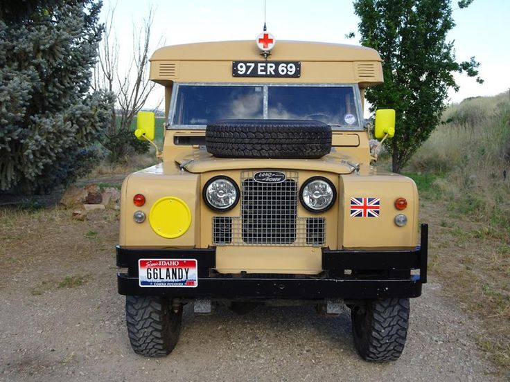 Land Rover 109 Serie II A - NICE AMBULANCE