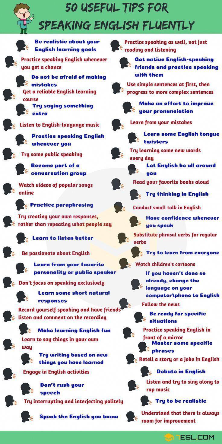 astuces pour parler anglais couramment  consejos para hablar ingl u00e9s fluido   apprendreanglais