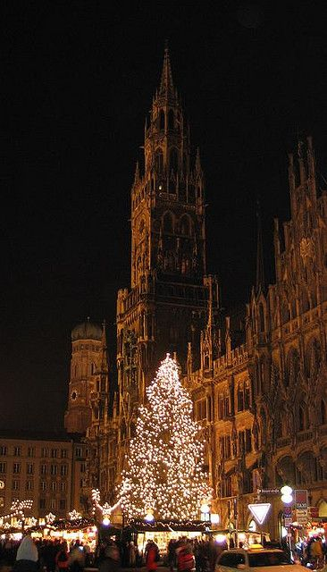 Christmas in Munich, Germany -  The Christmas Markets in Germany are well worth the trip over.  It's like stepping back in time.