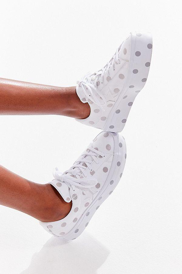 Star Polka Dot Platform Sneaker