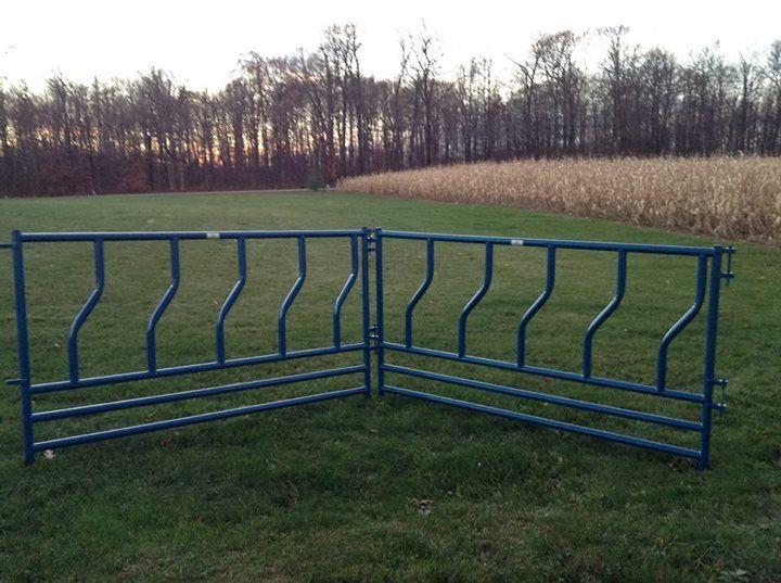 Full Length Feeder Panels For Cattle Feeding Cattle