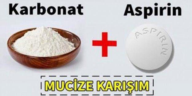 Saçlarınız için aspirin karbonat maskesi
