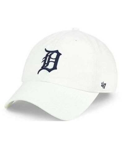 MLB Detroit Tigers White Adjustable Clean Up Hat