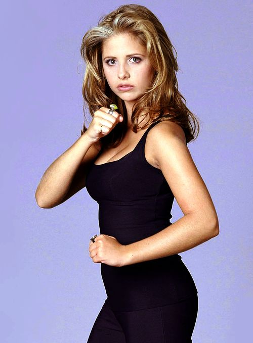 Sarah Michelle Gellar is Buffy. She slays me!