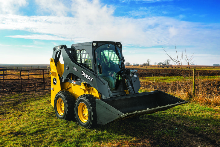 Heavy Equipment Frames : New john deere small frame skid steer loaders and compact