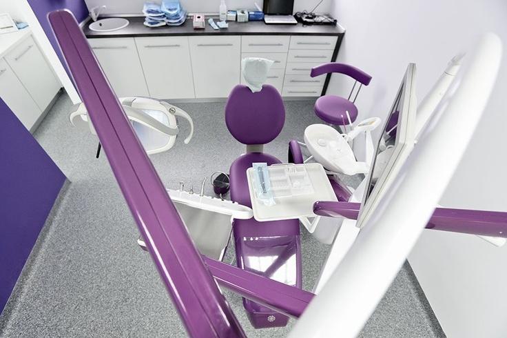 Violet dental unit
