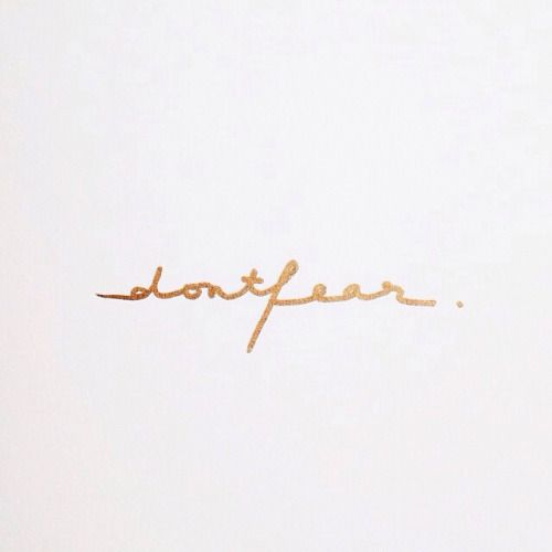 Don't fear. This script would make for a beautiful wrist or collar bone tattoo