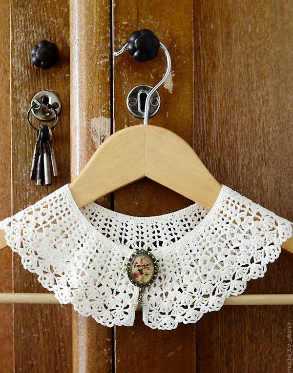 25+ best ideas about Crochet collar on Pinterest Crochet ...