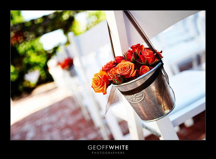 great idea: Ceremony Decoration, Buckets, Decoration Idea, Weddings Inspiration, Aisle Flower, Autumn Weddings, Fall Weddings, Aisle Decoration, Weddings Idea